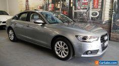 2012 Audi A6 4G Multitronic Grey Automatic 1sp A Sedan #audi #a6 #forsale #australia