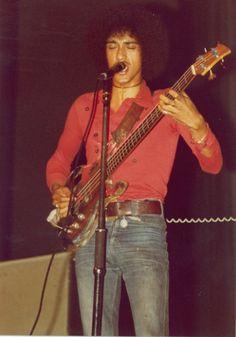 Phil Lynott with Thin Lizzy in Frankfurt, Germany, 1972