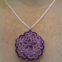 Thank you for sharing this pretty purple pendant!