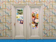 The Jenba Doors, art 'n' travel. DownloadSimlish fonts by ajaysims!