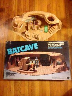 Vintage 1980 Mego Pocket Heroes Batcave RARE Great Shape | eBay
