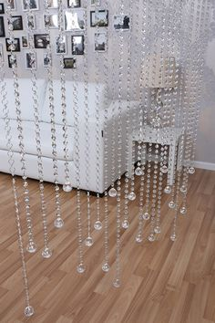 Crystal octagon beads bead curtain crystal finished product curtain partition entranceway curtain shoe curtain US $22.84