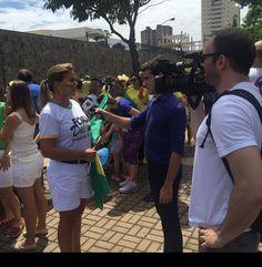 """"""" Araçatuba e região  Sucesso total....em torno de 1012 mil pessoas #foraDima  #LulanaCadeia !!!!  by juniacunha"""