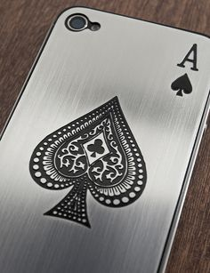 Ace of Spades Cover for iPhone 5