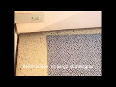 Die Balkonfliese Bergo Typ XL aus PP Kunststoff