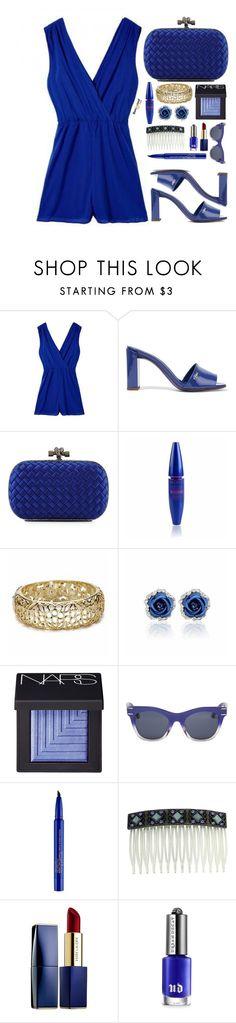 """Blue emotions"" by simona-altobelli ❤ liked on Polyvore featuring Fendi, Bottega Veneta, NARS Cosmetics, Henri Bendel, Smashbox, 1928, Estée Lauder, Urban Decay and BangGood"