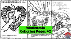 Whakataukii Colouring Pages... the best!