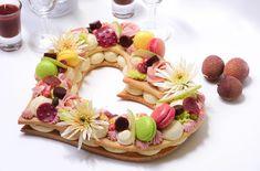 heart cake - number cake - letter cake