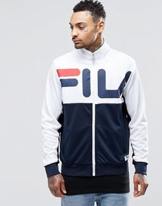 Fila Black Line Track Jacket With Back Print £75.00 @ Asos