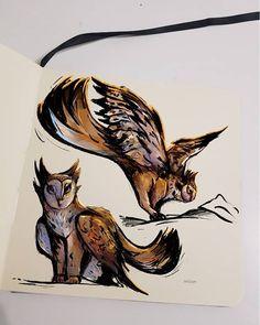 by Serpenart Griffins, Moose Art, Animals, Animales, Animaux, Animal, Animais