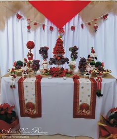 Ateliê Nicete Balieiro: Festa de Natal - Mesa de Frutas da Sandra
