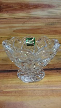 Marquis by Waterford Crystal Candle Holder - Diamond Collection Amway by ArtMaxAntiques on Etsy