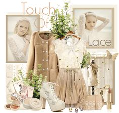 """""""Touch Of Lace"""" by marija-lola-grujicic ❤ liked on Polyvore"""