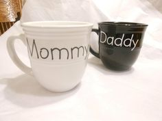 gotta start making personalized cups @ home!    ....Custom with Uppercase Living vinyl lettering.  http://sharonm.uppercaseliving.net Such a cute idea from your kids.