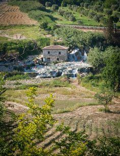 Saturnia - natural spa in Italy