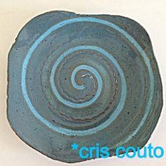 Pratos.......... (cris couto 73) Tags: ceramica ceramic handmade plate clay pottery prato argila criscouto