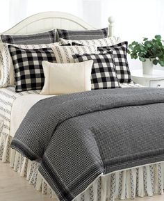 Ralph Lauren Winter Cottage Queen Duvet Comforter Cover Set New Plaid Bedding, White Bedding, Plaid Bedroom, Comforter Cover, Comforter Sets, King Comforter, Duvet Covers, Zara Home, Small Bedrooms