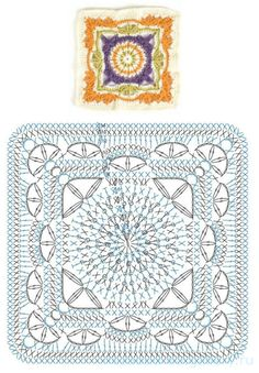 How to Crochet a Solid Granny Square : The Ultimate Granny Square Diagrams Coll. How to Crochet a Solid Granny Square : The Ultimate Granny Square Diagrams Coll… How to Crochet Motif Mandala Crochet, Crochet Motifs, Crochet Blocks, Granny Square Crochet Pattern, Crochet Diagram, Crochet Chart, Crochet Squares, Crochet Doilies, Crochet Stitch