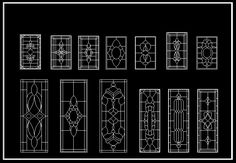 CAD Library-AutoCAD Blocks & Drawings : ★【European Classical elements Blocks】★