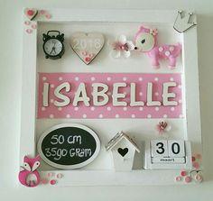 Geboortebord ● Troetel.com #geboortebord #geboorteborden #wandbord #tekstbord #roze #babykamer #kraamcadeau