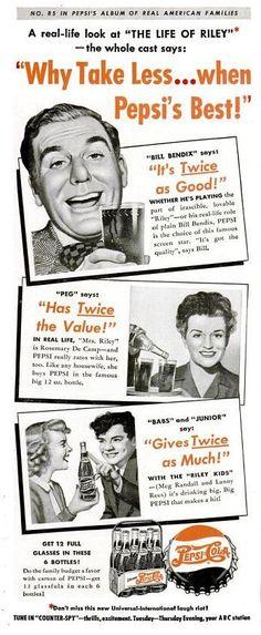 1949 Pepsi Cola - Vintage Advertising