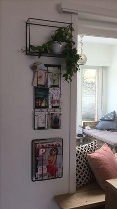 Tijdschriften en boeken rekjes