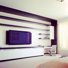 Muebles para tv para espacios amplios... Encuentra esto y mucho más en www.amatysta.com.co