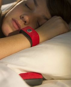 Pillow Talk enables you to feel your partner's presence by sharing heartbeats via a wristband and speaker