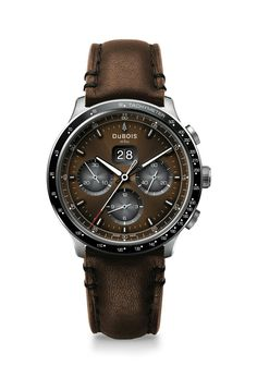 Dubois DBF005-03 chronograph Chronograph, Watches, Leather, Accessories, Honda, Tag Watches, Wrist Watches, Watch, Jewelry