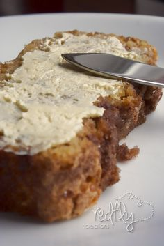 Amazing Amish Cinnamon Bread Recipe ~ very moist - makes 2 loaves.- Veganize this with vegan butter, non dairy milk with vinegar to make buttermilk and use an egg replacer