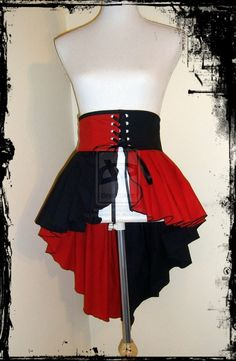 Harley Quinn Skirt Belt by annaladymoon on deviantART