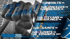 Schedule wallpaper for the Detroit Lions Regular Season, 2016. All times CET. Made by #tgersdiy