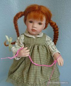 Вяжем платье для паолочки (Кукла Paola Reina 32 см ...