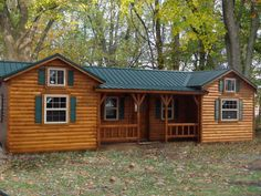 Awesome Cumberland Log Cabin Kit from $10,350  | From livingoutdoors