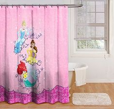 $18.43 Disney Princess Dream Shower Curtain | disney bathroom | disney bathroom ideas | #disney Disney Shower Curtain, Disney Bathroom, Dream Shower, Floral Shower Curtains, Curtains For Sale, Store Fronts, Washing Clothes, Improve Yourself, Boutique