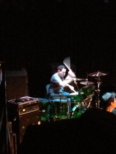 A shot  from the balcony that Misti Layne took at The Whisky a few years back. #chriswillett #drumming #drums