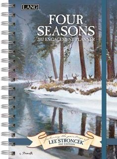 Four Seasons 2017 Spiral Engagement Planner , 17991011084   Lang
