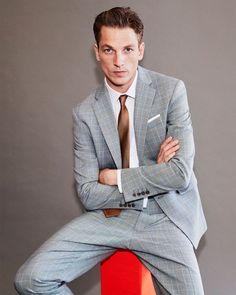 2f13cbe4a2 805 Best Men's Suits images in 2019   Mens suits, Man fashion, Men's ...