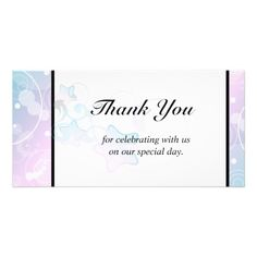 Wedding Thank You   Bubble Star Fairy Tale Photo Cards