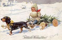 Weihnachten vor hundert Jahren- Teil II: Weihnachten aus Künstlersicht - Hannover-Bothfeld