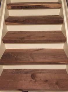 Luxury Basement Stair Treads