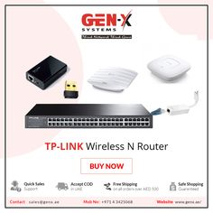 TP LINK Wireless N Router is a cutting edge networking device Buy Tp Link online in UAE form Genx System Online Store with free home delivery and best price Tp Link Router, Fade Up, Play Game Online, Business Requirements, Business Networking, Sharjah, It Network, Dubai Uae, Plastic Case