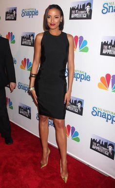 Selita Ebanks Little Black Dress - Selita Ebanks Clothes Looks - StyleBistro