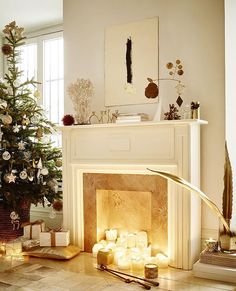 White & Gold lookbook : new style for your holidays décor #lookbook #xmas #zarahome