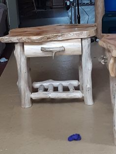 If you have purchased an EZ Log Tenon cutter from Rustic Woodworking, send us a photo of your project and we'll send you a free replacement cutter b lade. Free Logs, Log Furniture, Wood Creations, Deer Antlers, Night Stand, Build Your Own, Entryway Tables, Drawers, Build Stuff
