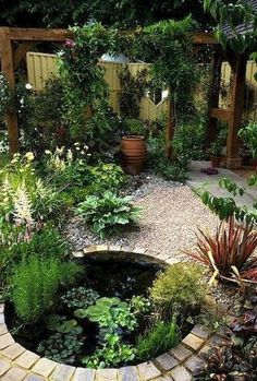 I've don't need a pond anymore since I have the river!... However I'll take everything else!  Gorgeous Backyard Ponds and Water Garden Landscaping Ideas (40) #watergarden