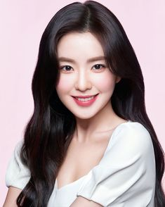 """Irene from K-Pop group Red Velvet became an Asia Pacific model of Clinique. Sharing her beautiful looks from the """"Flower Power"""" Campaign (Source: Clinique Korea). Red Velvet アイリーン, Irene Red Velvet, Velvet Hair, Seulgi, Glow Skin, Red Velvet Photoshoot, Velvet Wallpaper, Clinique, Kpop Girls"""