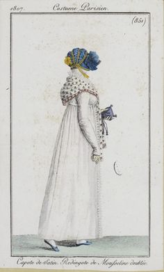 1807 Costume Parisien Plate No 851