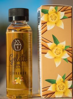 Cinnamon - Gelato Co. E Liquid #vape #vaping #eliquid