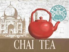 Red Teapot Chai Tea Marco Fabiano